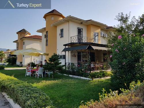 Holiday home for sale on a beach front complex in Kusadasi