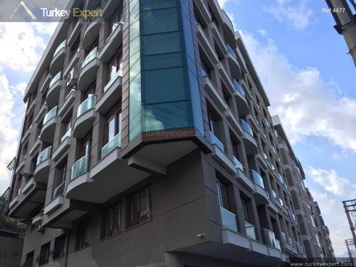 New completed duplex apartment for sale in Izmir, excellent location
