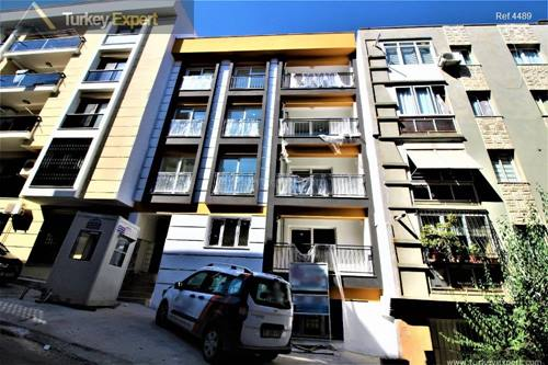 Low priced new build apartment in Izmir city centre, lively area located at the top floor