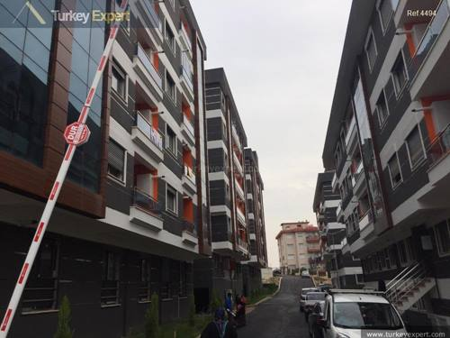 New build apartment for sale in Izmir located in a lively district