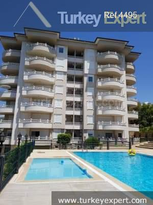 alanya apartment for sale with3