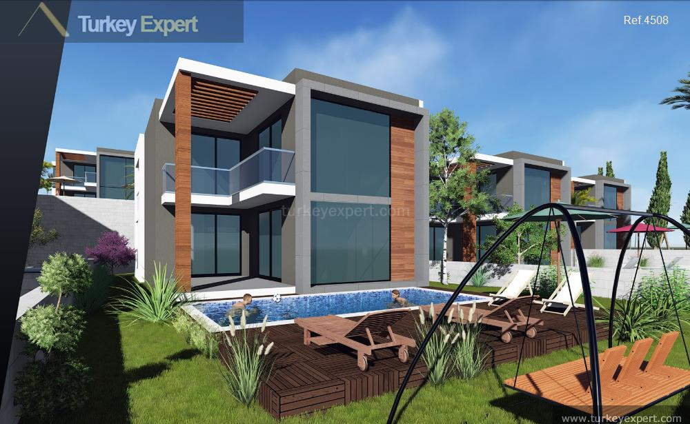 modern sea view villas project24