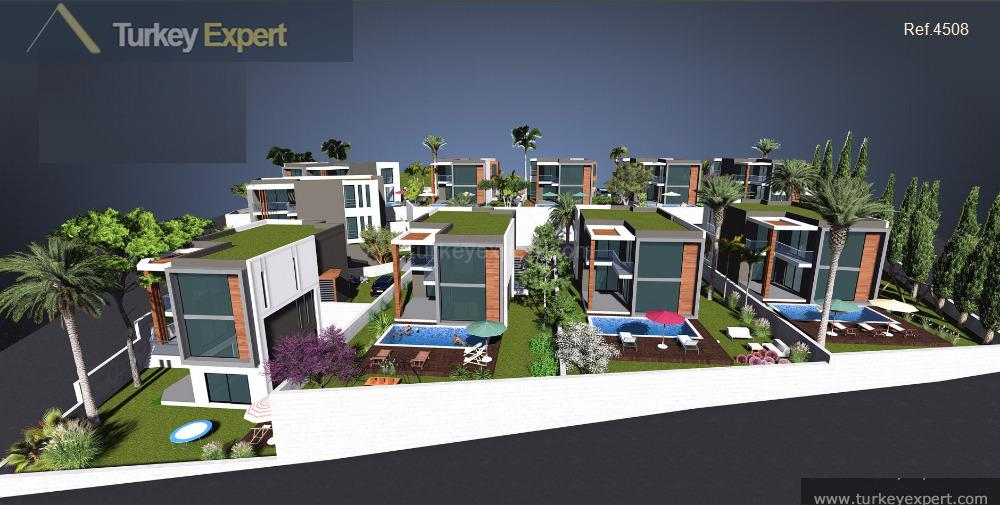 modern sea view villas project27