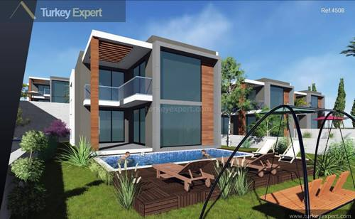 Modern sea view villas project in Kusadasi