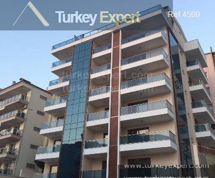 2-bedroom sea view apartment in Kusadasi center