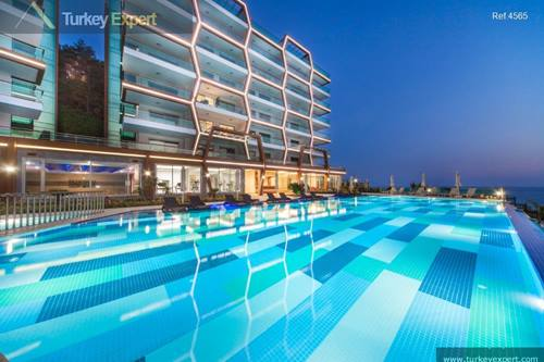Spectacular apartment project in Alanya with amazing sea views