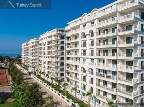 Special beach apartments in Alanya