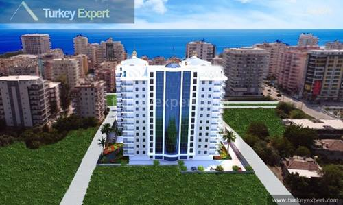 High standard apartments in Alanya, central location close to the beach and to amenities