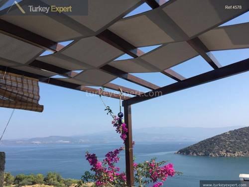 Sea view apartment in Bodrum
