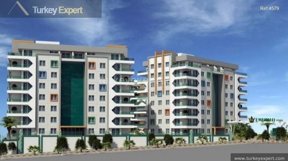 new alanya apartments on a6