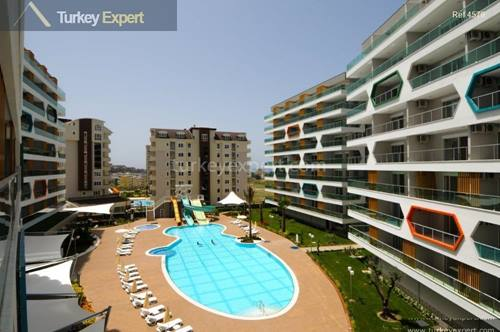 New Alanya apartments for sale, in a complex with outstanding facilities