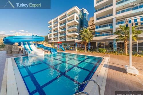 High quality apartments in Alanya near the beach