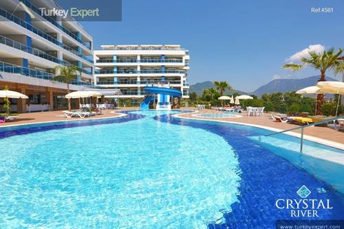 Holiday apartments in Alanya with high rental potential