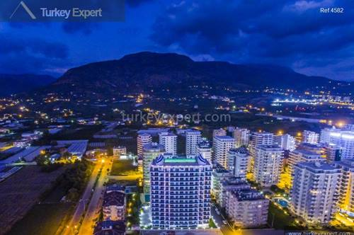 Ready to move in apartments for sale in Alanya Mahmutlar