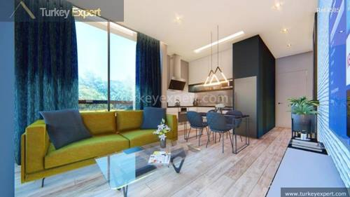 Investment apartments in Alanya center to rent out or for permanent residence