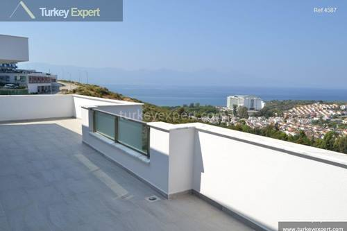 Sea view apartments for sale in Kusadasi near center