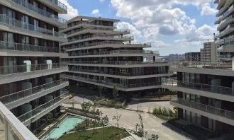 Investment opportunity in Istanbul - 2 bedroom completed apartment on a well known site
