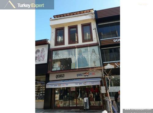 Commercial property for sale located in the heart of Edirne city center