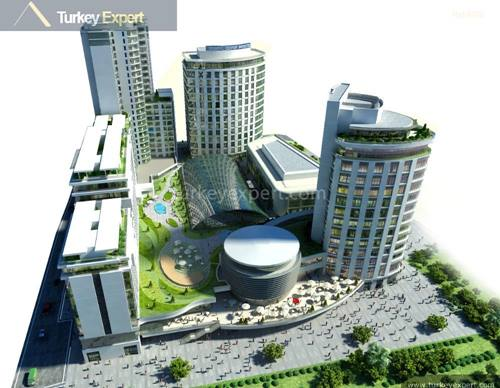 Apartment for sale in Istanbul Esenyurt on a complex with facilities