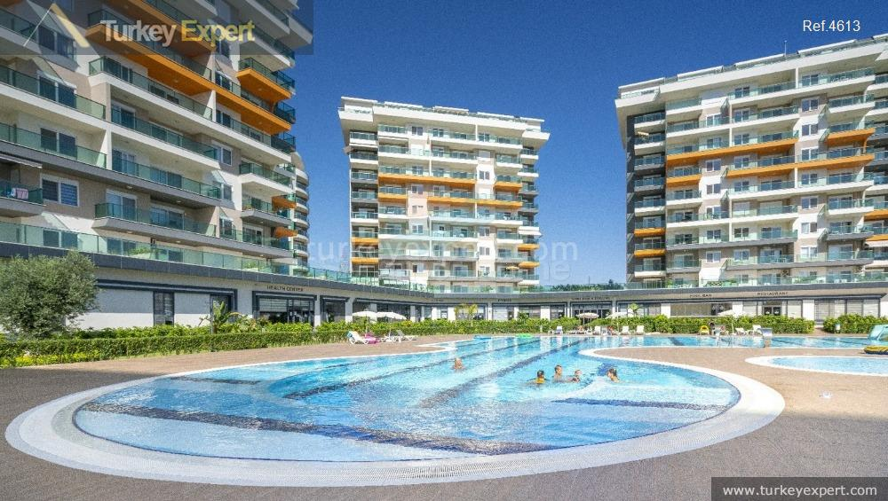 completed alanya avsallar apartments with11