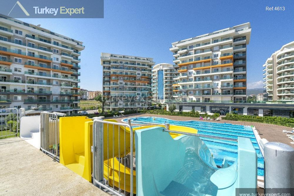 completed alanya avsallar apartments with13
