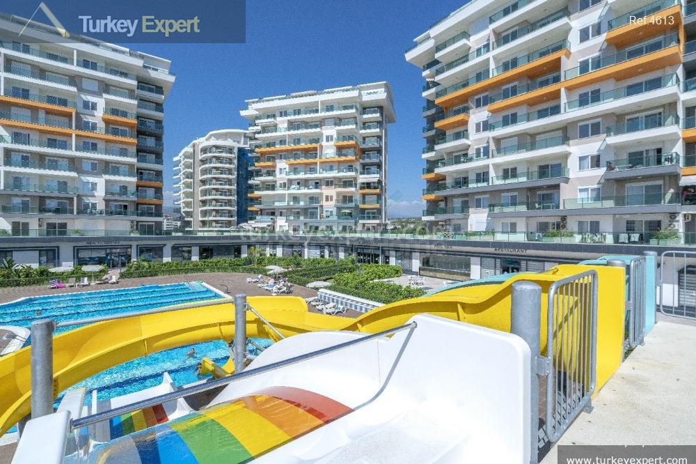completed alanya avsallar apartments with14