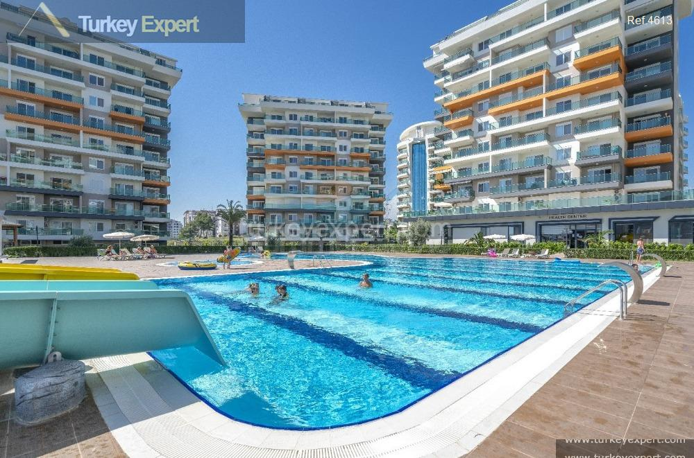 completed alanya avsallar apartments with15