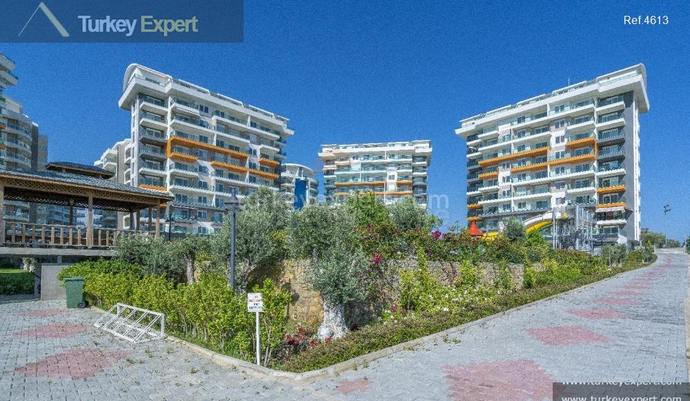 completed alanya avsallar apartments with16