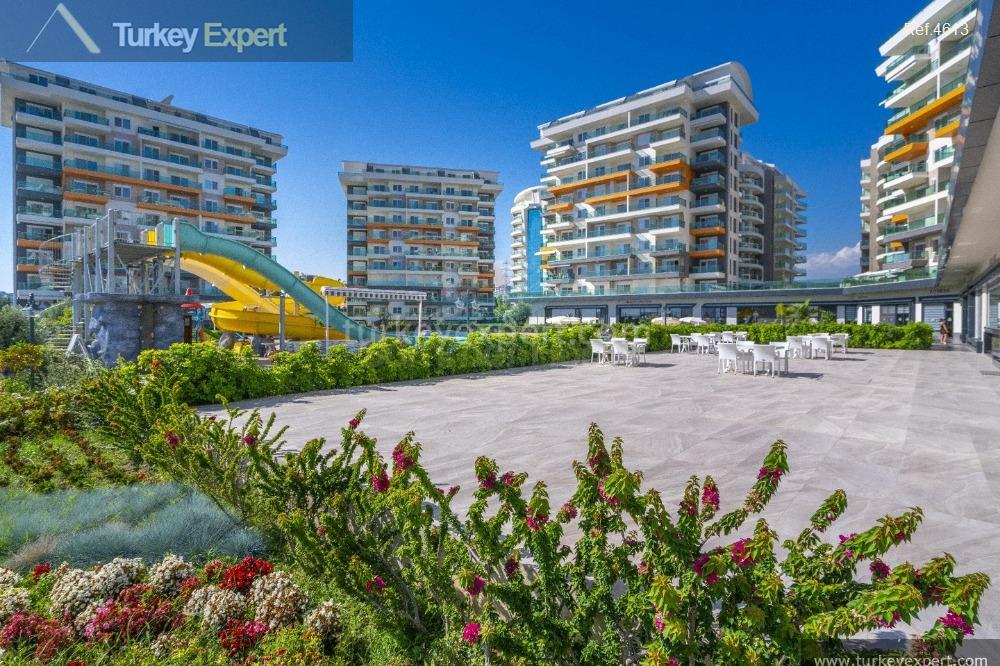 completed alanya avsallar apartments with17