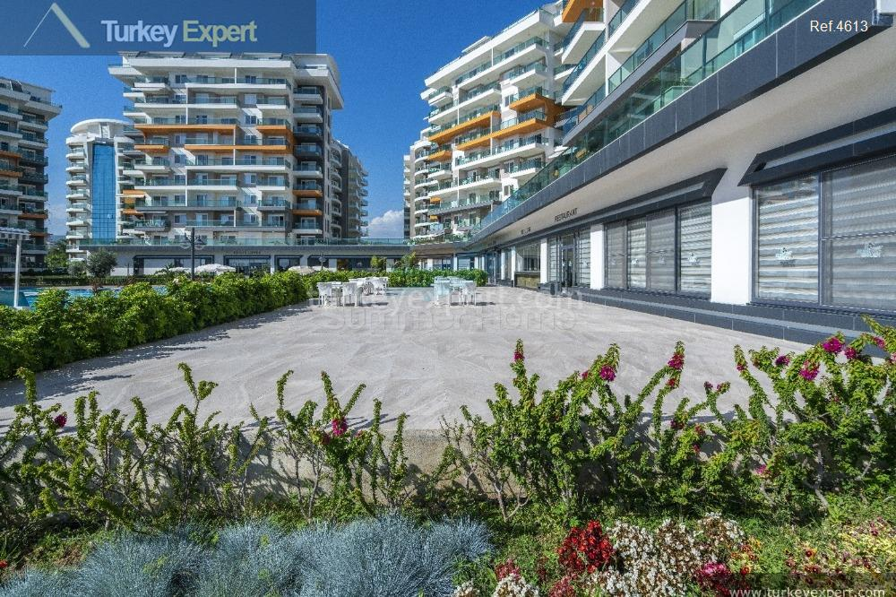 completed alanya avsallar apartments with18