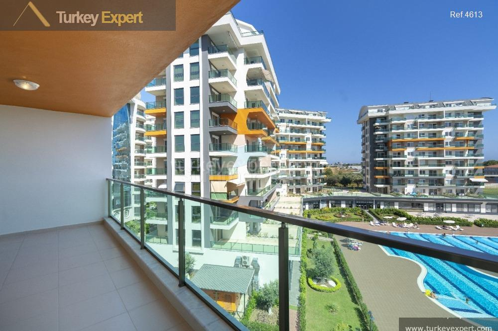 completed alanya avsallar apartments with5
