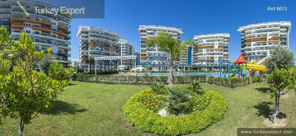 completed alanya avsallar apartments with7