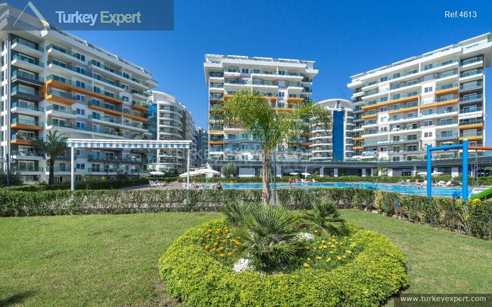 completed alanya avsallar apartments with8