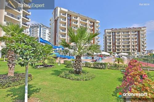 Last few apartments for sale on this finished site in Alanya ideal for permanent living or holiday rentals