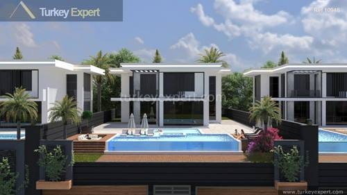 Unique detached villas in Alanya with private pools and unobstructed sea and city views