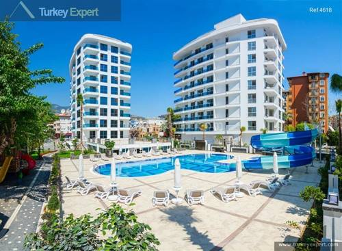 Perfect holiday feeling in these luxury Alanya apartments