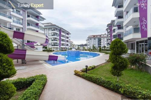 Alanya beach apartments with facilities and affordable prices