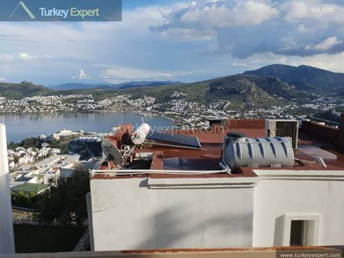 Detached villa with sea views in Bodrum Gundogan