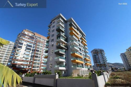 Furnished apartment for sale in Alanya Mahmutlar, ready to move in, on the 7th floor