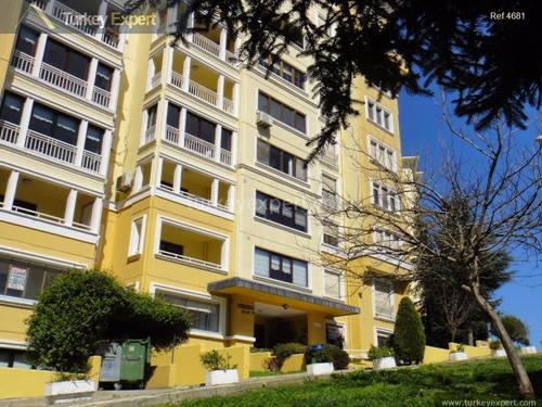 Good size 3 bedroom 1 living room apartment for sale in Bahcesehir Istanbul