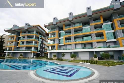 Apartments with sea views for sale in Alanya, Kestel