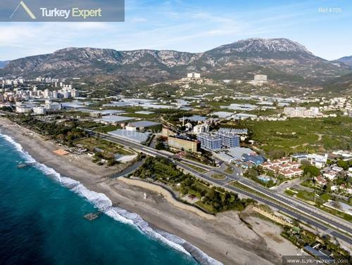 Apartments for sale in Alanya near beach and airport