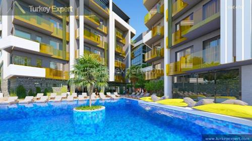 Apartments for sale in Alanya in a prime location with reasonable prices