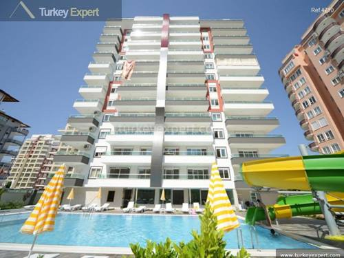 Affordable apartments for sale in Alanya Mahmutlar near the beach