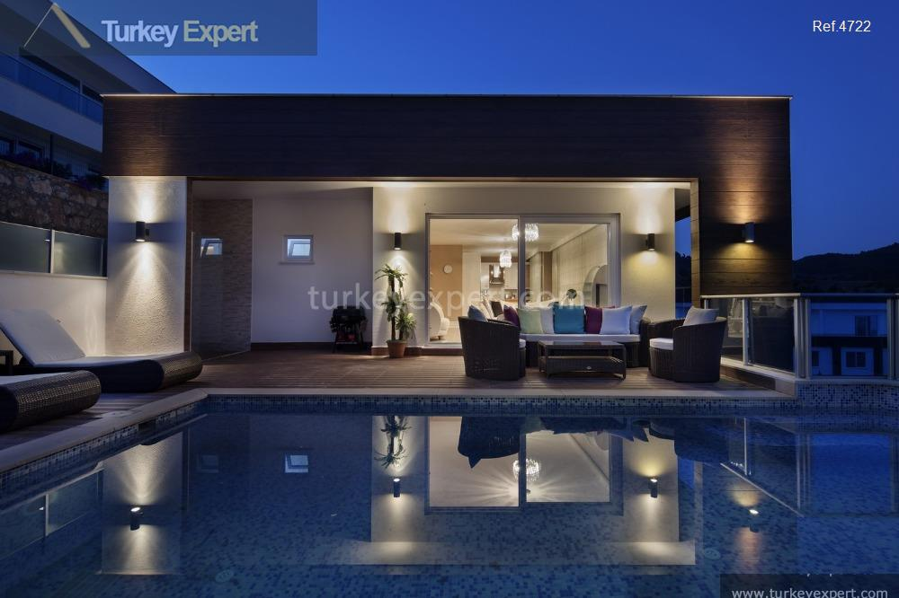 1spacious villas with private pools1
