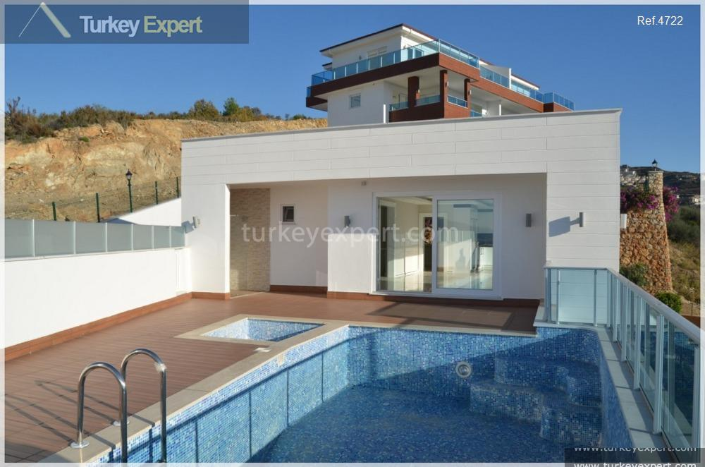 spacious villas with private pools10