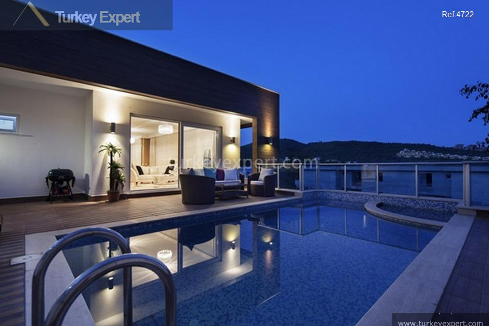 spacious villas with private pools7