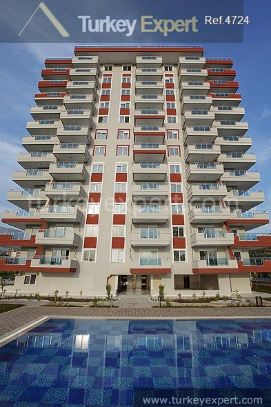 affordable apartments in alanya with5