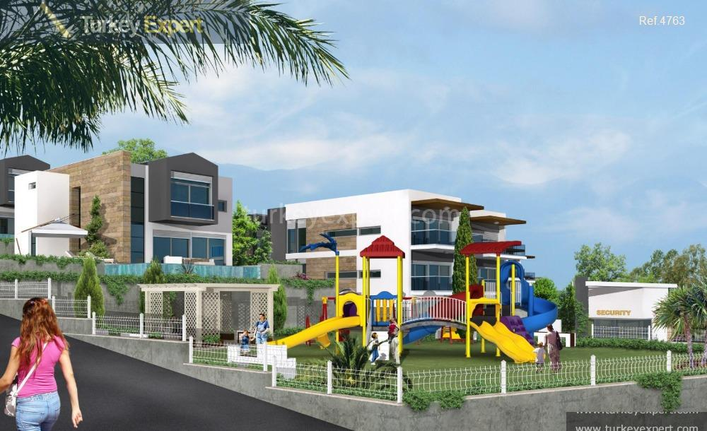detached sea view villas with29