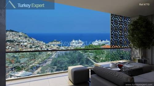 Kusadasi city center apartments with payment plan, some with sea views